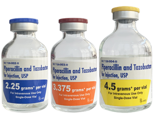 Piperacillin and Tazobactam for Injection, USP